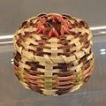 Miniature Basket, Ho-Chunk people, Wisconsin, c. 1970, woven black ash splint - Chazen Museum of Art - DSC01847.JPG