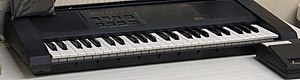 Miracle Piano Teaching System - Image: Miracle Piano Teaching System keyboard