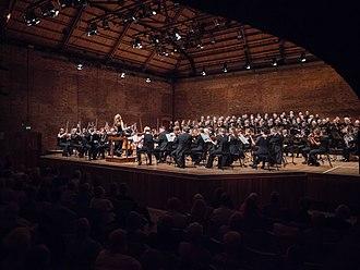 City of Birmingham Symphony Orchestra - Mirga Gražinytė-Tyla conducting the CBSO at the Aldeburgh Festival in 2017