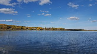 Otter Lake (Saskatchewan) - Otter Lake with Missinipe