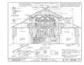 Mission San Juan Bautista, Second Street, San Juan Bautista Plaza, San Juan Bautista, San Benito County, CA HABS CAL,35-SAJUB,1- (sheet 12 of 38).png