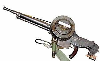 Reibel machine gun Machine gun