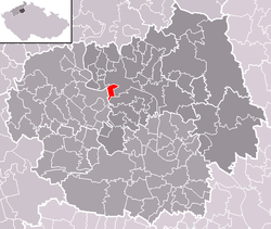 Location of Mlékojedy