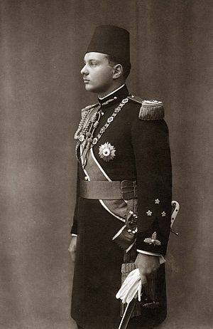 ModernEgypt, Farouk I in Military Uniform, DHP13655-10-1 01.jpg