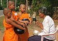 Monk blesses the Buddhist.jpg