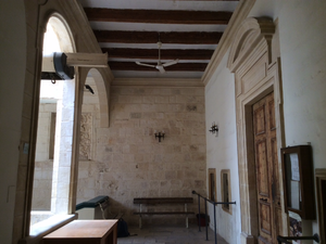 Monte di Pietà (Malta) - Main hall for clients, at second floor