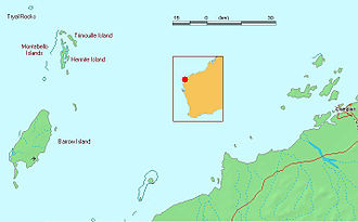 Tryall - Map of the Montebello Islands and the Tryal Rocks