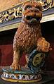 Montelupo, leoncino con stemma, XVI sec 02.JPG