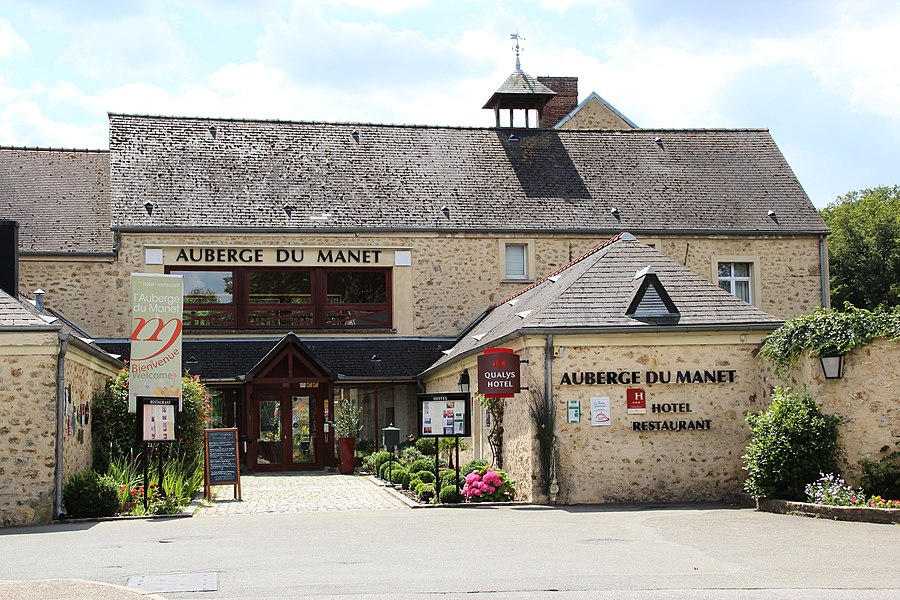 Manet farm in Montigny-le-Bretonneux, France.