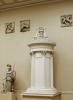 Monument of Lysicrates - Replica in Pushkin museum 01 by shakko.jpg