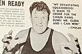 Moose Cholak - Chicago Professional Wrestling - 26 April 1969 (cropped).jpg