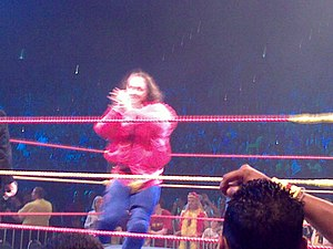 Eugene (wrestler) - Dinsmore in the Hulkamania Tour