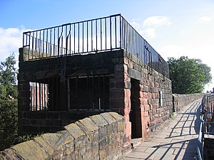 Siege of Chester - Image: Morgan's Mount on the city walls geograph.org.uk 694425