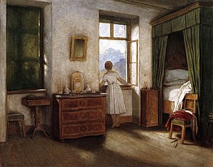 Moritz von Schwind - Early Morning, 1858