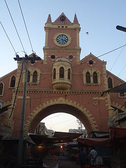 Clock Tower in Shaahi Bazaar, Hyderabad