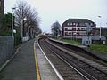 Mortlake station look east.JPG
