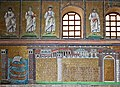 Mosaic of the Port and Town of Classe, Basilica of Sant'Apollinare Nuovo, Ravenna, Italy (6124783623).jpg