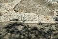 Mosaic with inscription, Late antiquity, Aigina, Kolona, 176136.jpg