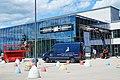 Motorworld Region Stuttgart, Umbau der Außenfassade.jpg