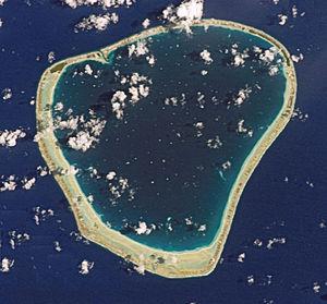 Motutunga - NASA picture of Motutunga Atoll