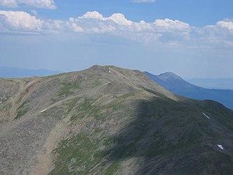 Mount Oxford (Colorado) - Image: Mount Oxford (Colorado) 2006 07 16