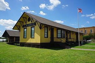 Mount Vernon, Texas - 1894 Cotton Belt Railroad Depot