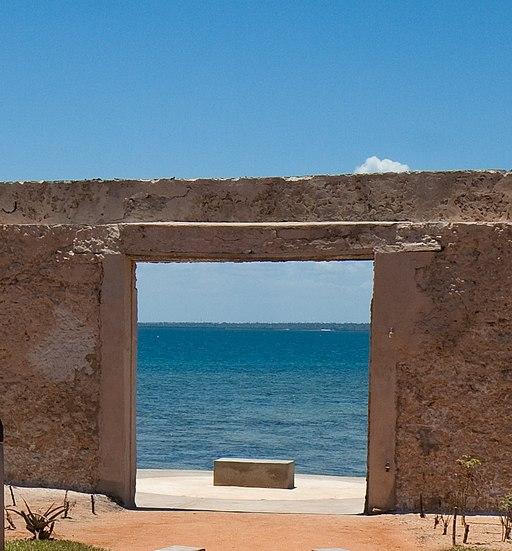 Mozambique Island - Garden of Memory