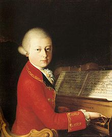 Mozart aged 14 in January 1770 (Source: Wikimedia)