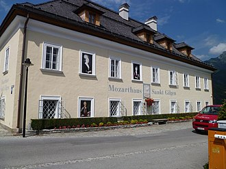 Anna Maria Mozart - Anna Maria Mozart's birth home in St. Gilgen is now a museum.