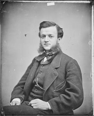 John Henry Puleston - Mathew Brady photo taken of Puleston during his time in the United States