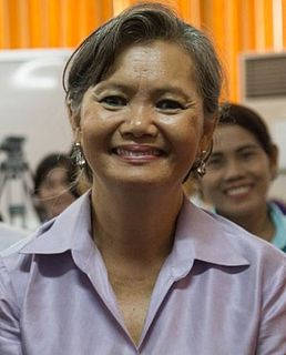 Mu Sochua Cambodian politician