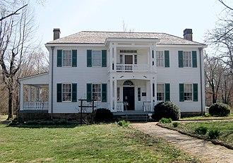 Park Hill, Oklahoma - Image: Murrell home