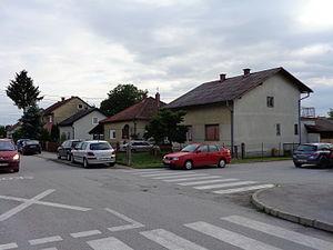 Mursko Središće - Vladimir Nazor Street in Mursko Središće suburb