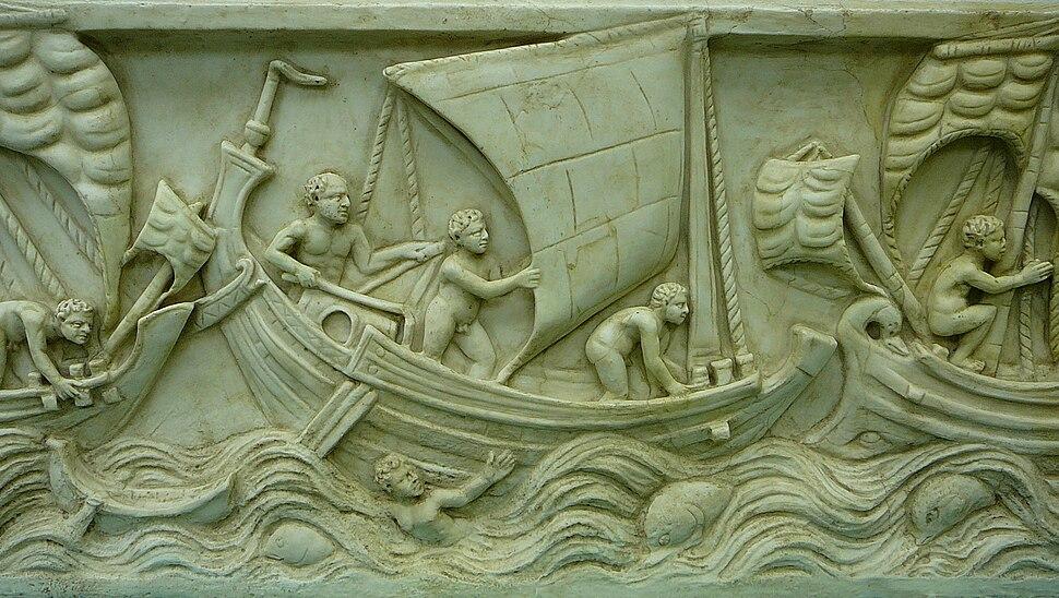 Museum für Antike Schifffahrt, Mainz 02. Spritsail