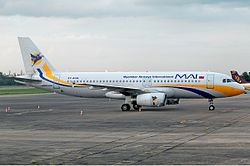 Myanmar Airways International Airbus A320 Prasertwit.jpg