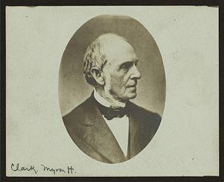 Myron H. Clark American politician
