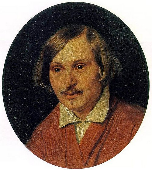 N.Gogol by A.Ivanov (1841, Russian museum)
