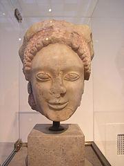 Head of a Korai