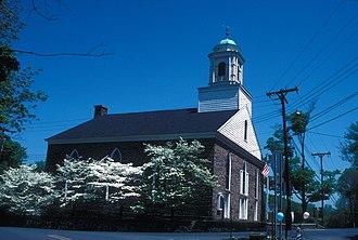 Neshanic, New Jersey - Contributing Property: Dutch Reformed Church