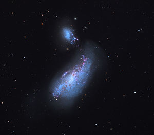 NGC 4485 - NGC 4485 and NGC 4490