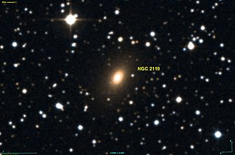 NGC 2119 - DSS image of NGC 2119