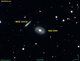 Image illustrative de l'article NGC 2544