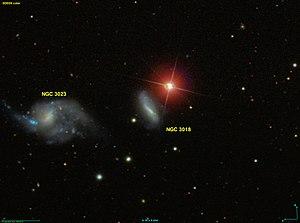 NGC 3023 & NGC 3018 [1] (= KPG 216)