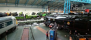 National Railway Museum - Image: NRM Great Hall merge 2