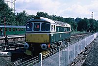 NSE East Grinstead - Oxted electrification gala (1987) 10.JPG