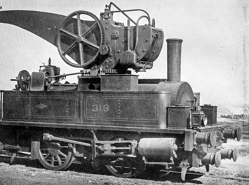 File:NSWGR Locomotive Crane 318.jpg