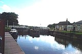 Naburn Locks looking south.