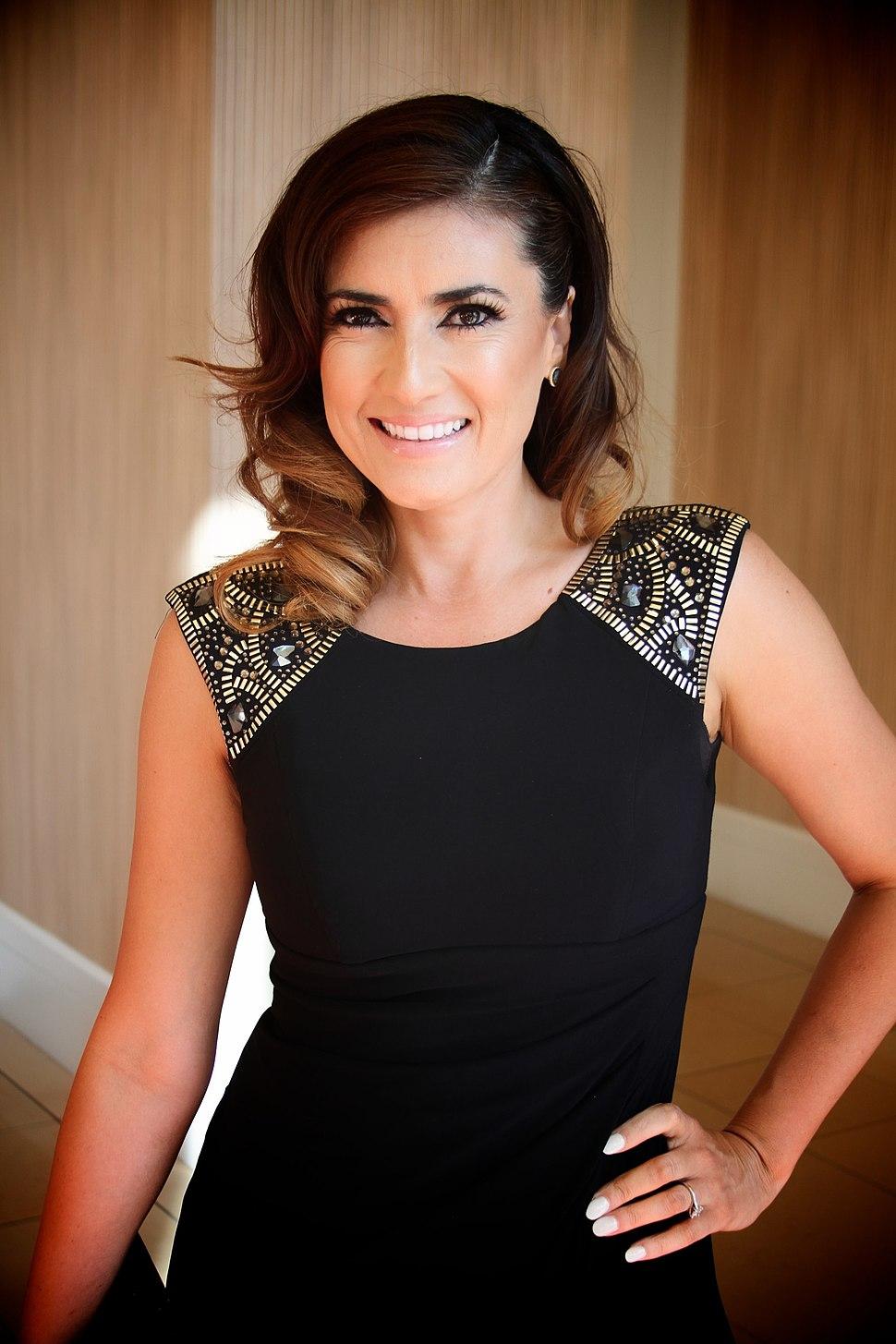 Naibe Reynoso at 2014 Imagen Awards