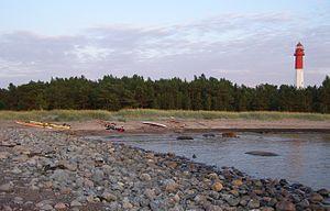 Naissaar - Image: Naissaare põhjatipp