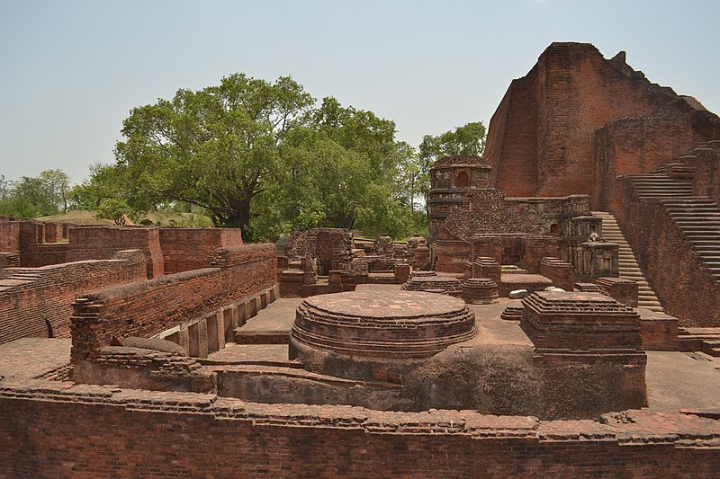 Nalanda, Bihar: Nalanda ruins, architecture in india